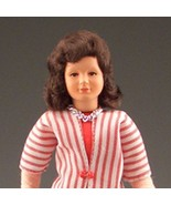 Dressed Lady Dollhouse Caco DHS0089 Flexible Modern Red Stripe Miniature - $40.35