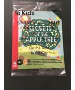 Chick Fil A Kids Meal SHINE-A-LIGHT Usborne Book Secrets Of The Apple Tr... - $9.85