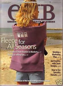 Primary image for Embroidery/Monogram Business  Magazine July  2004