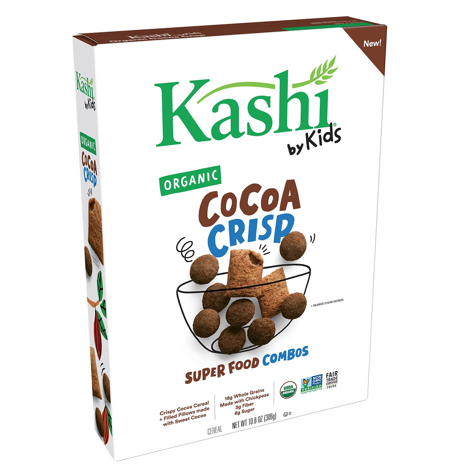 Kashi By Kids Organic Cereal Cocoa Crisp 11oz (Pack Of 10