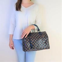 Louis Vuitton Limited Edition Blue Damier Paillettes Speedy 30 Bag - $1,999.00