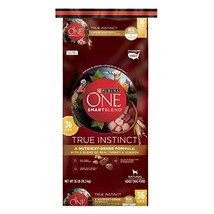 Purina ONE High Protein Natural Dry Dog Food, SmartBlend True Instinct W... - $77.93