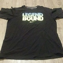 NIKE  legend Bound Black  100% Cotton T-Shirt   Youth  XL   - $16.48