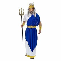 Costume Culture Neptune Poseidon King Greek Adult Mens Halloween Costume... - $37.79+