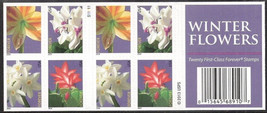 4865b, 2014 US Stamps - Winter Flower - Forever Pane of 20 Stamps - Stua... - $19.95