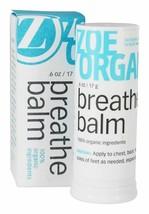 Lot of 2 Zoe Organics Breathe Balm Aromatherapy Blend 100% Organic .6 oz image 2