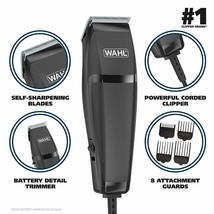 Wahl Clipper Combo Pro 14 Piece Styling Kit with Hair Clipper and Beard ... - $38.76