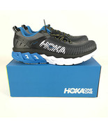 Hoka One One M Arahi 2 Wide Men's size 10 Black Charcoal Gray 1019277 - $118.80