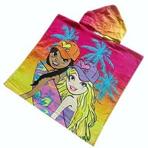 Lovely Cartoon Series Skateboard Girl Hooded Bath Towel (12060CM)