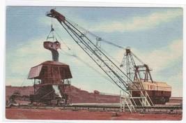 Electric Shovel Iron Mining Mesabi Range MN postcard - $4.46
