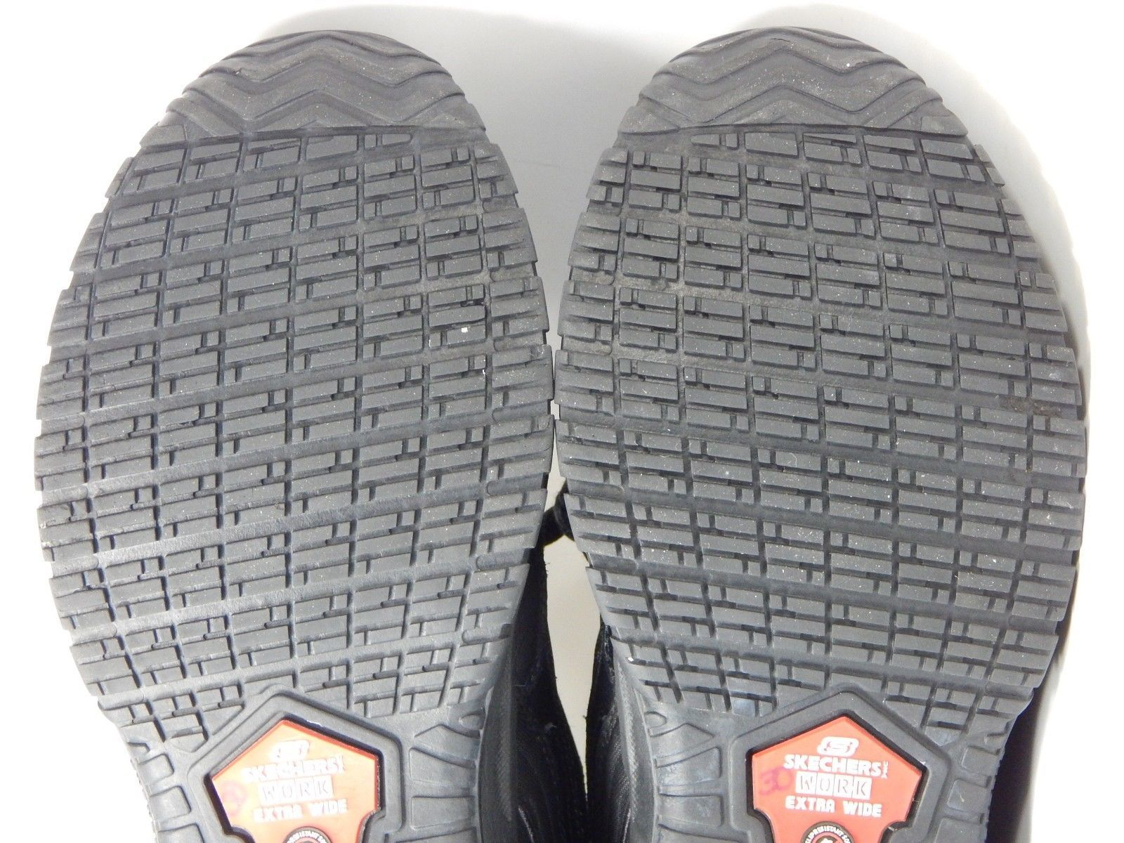 Skechers Soft Stride Mavin Size 8.5 4E (EW) EXTRA WIDE EU: 41.5 Men's Work Shoes
