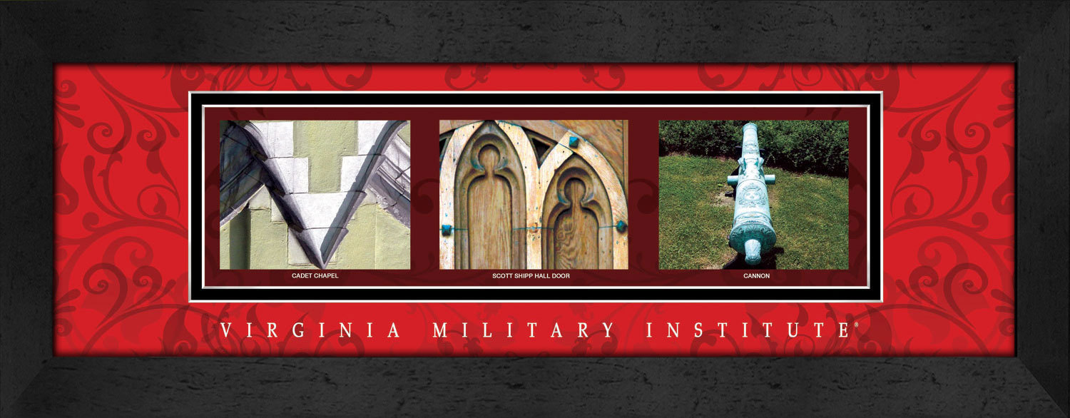 Primary image for Virginia Military Institute (VMI) Officially Licensed Framed Campus Letter Art