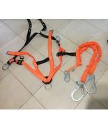 Miller Titan Stretch Double-Legged Rebar Hooks & Titan Shock Absorb Lanyard - $75.00