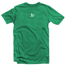 Oakland Athletics T-Shirt A's Mini Logo Soft Tee (S-2XL) MLB - $12.95