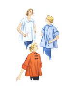 Vtg 50s Simplicity 3616 Juniors Maternity Jacket Short 3/4 Kimono Sleeve... - $7.95