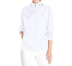 Medium 8-10 Cutter & Buck Women's Golf Jacket Ava Hybrid Lightweight WeatherTec