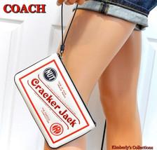 COACH Cracker Jack Ltd Large Wristlet Wallet Phone Case Bag F25867 NWT - $79.19