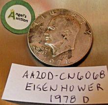 Eisenhower 1978 D Silver Dollar AA20D-CN6068 image 5