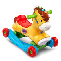 VTech, Gallop and Rock Learning Pony, Interactive Ride-On Toy - $39.59