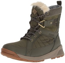 NEW Columbia Women's Meadows Shorty Omni-Heat 3D Boot Nori/Pebble, Size 7.5 - $62.91