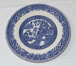 """Fine Myott Meakin Tableware England Blue White 6 7/8"""" Bread & butter Plate~ - $20.78"""