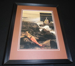 1993 Chivas Regal Scotch Mermaid 11x14 Framed ORIGINAL Vintage Advertise... - $32.36