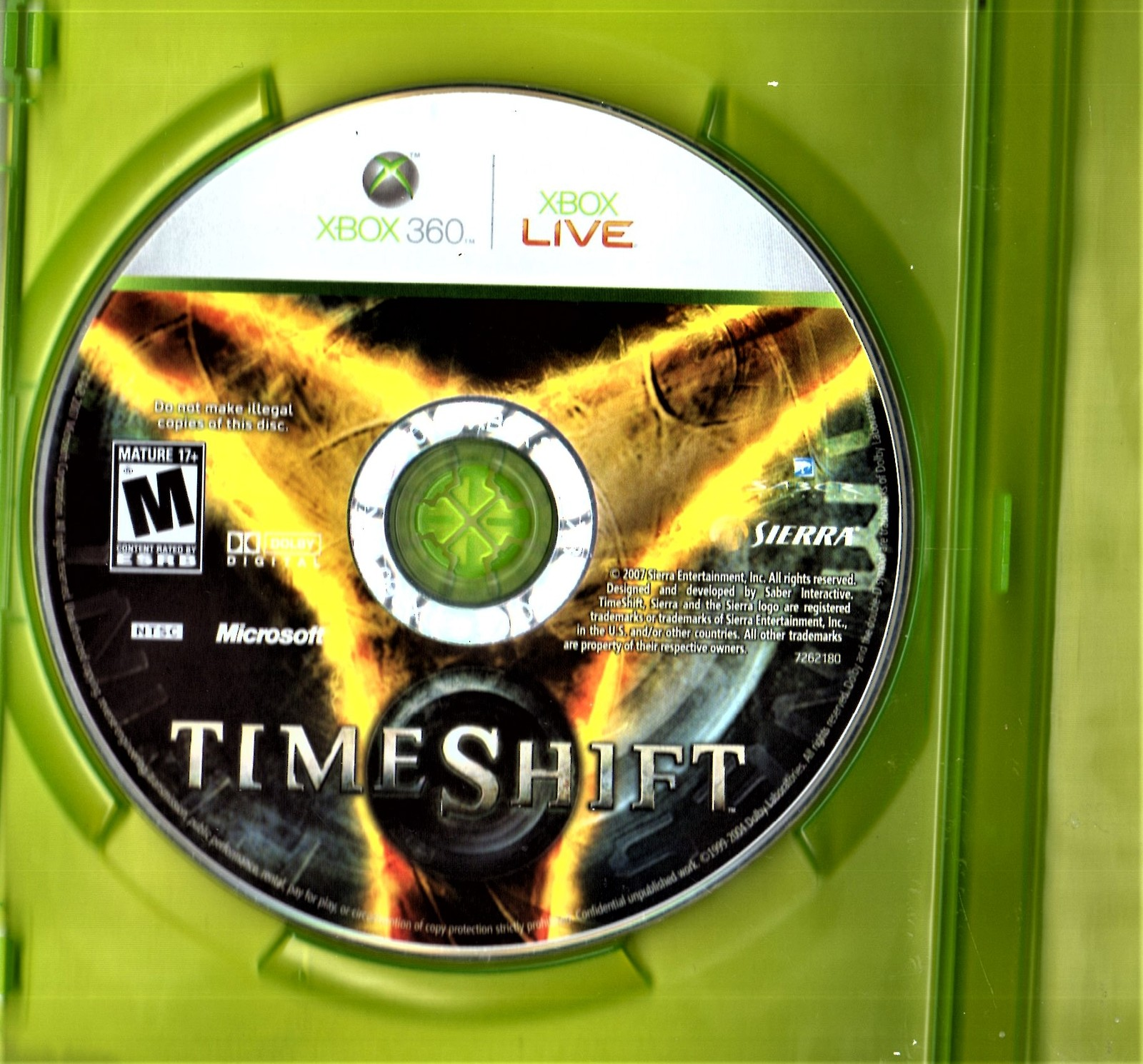 XBox 360 - TIME SHIFT