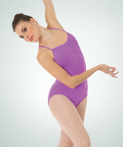 Body Wrappers BWP225 Women's Small Violet Princess Cami Ballet Cut Leotard - $14.84