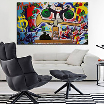 """Alec Monopoly """"Two packs"""" HD print on canvas large wall picture 36x28"""" - $28.70"""