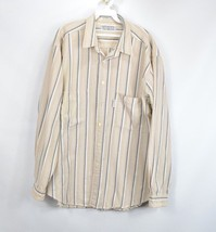 Vintage 80s Levis Silver Label Mens XL Long Sleeve Button Front Casual S... - £22.67 GBP