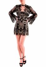 Free People Decolade Mini Dress Long Sleeve Black Combo Size S RRP £148 ... - $136.25