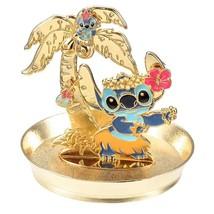 Disney Store Japan Stitch Jewelry Pierced Accessory Case with Tray Stitc... - $66.33