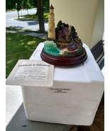 "Thomas Kinkade  ""The Light Of Peace"" Lighthouse Figurine - $19.99"