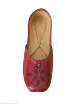 Women Shoes Mojari Indian Handmade Cherry Flip-Flops Flat Jutti US 6.5 - $24.99