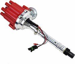 Pro Billet Series R2R Distributor GMC Chevy SBC BBC V8 327 350 396 454 Red image 7