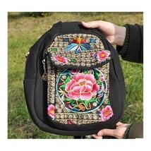 New National Style Emboridery Bag Original Dual-purpose Shoulders Bag Chest Bag - $31.58