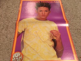 Chris Trousdale Pink teen magazine poster clipping yellow shirt Dream Street