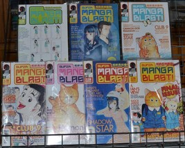 Super Manga Blast!  51-53 55 56 58 59 Lot Seraphic Feather  OH MY Goddes... - $19.99