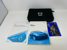 2007 Mazda 3 Owners Manual Warranty Guide Handbook with Case OEM Z0A1463 - $23.75