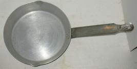 """Vintage Buckeye Aluminum Co 9 1/2"""" Frying Pan Long Handle Camp Cook - $18.81"""