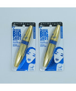 Maybelline Volum' Express The Colossal Big Shot Mascara Lot of 2 Boomin' in Blue - $5.99