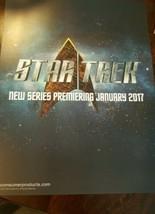 2016 CBS STAR TREK NEW SERIES IN 2017 LARGE PROMO CARD U.S.S. ENTERPRISE - $16.82