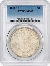 1885-O $1 PCGS MS62 - Morgan Silver Dollar - $63.05