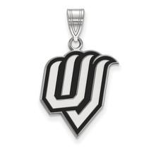 Sterling Silver LogoArt Utah Valley State Large Enamel Pendant - $95.00