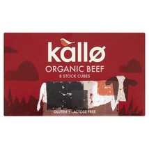 Kallo Organic Beef Stock Cubes 8 x 11g - $5.16