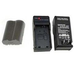 Battery + Charger for Canon Digital Rebel 6.3MP DS6041 Pro90 IS Pro 1 G1... - $22.49