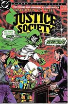 America vs The Justice Society Comic Book #2 DC Comics 1985 NEAR MINT NE... - $9.74