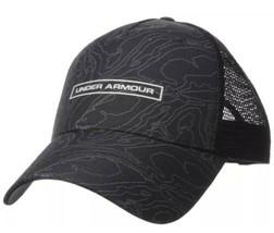 Under Armour Men's ODP Branded Trucker Hat, Black-Black-Ghost Gray 13050... - $26.73