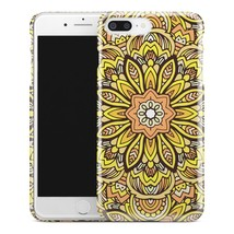 Casestry | Yellow And Black Warm Summer Flower | iPhone 7 Plus Case - $11.99