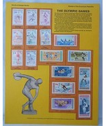 Postal Commemorative Society World Of Stamps Series The Olympic Games - $12.86